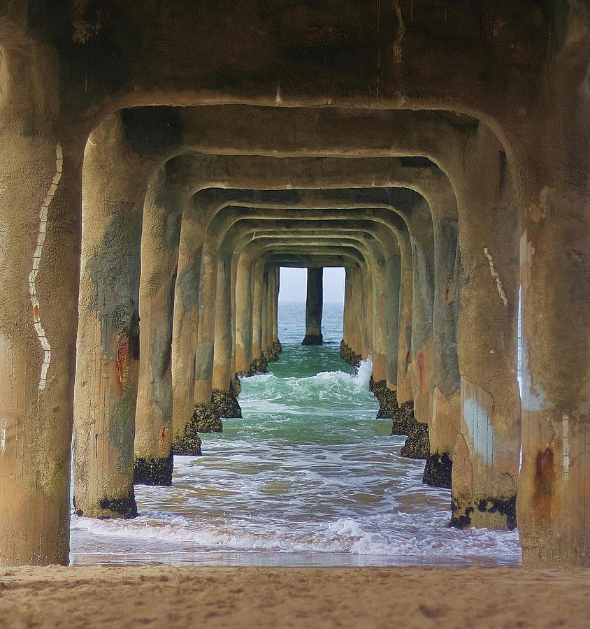 Manhattan Beach Pier Photograph By Julie Daniels Photography