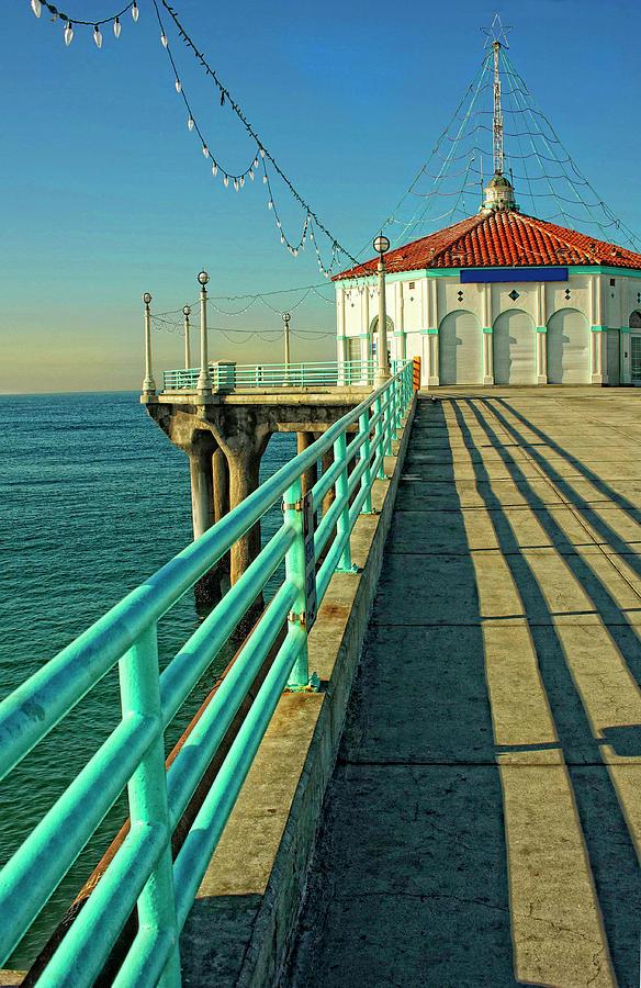 Manhattan Beach Pier Photograph By Kathryn Donohew Photography