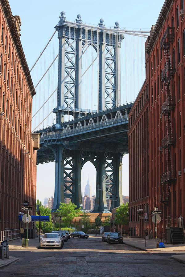 Manhattan Bridge And Empire State Photograph by Amanda Hall / Robertharding