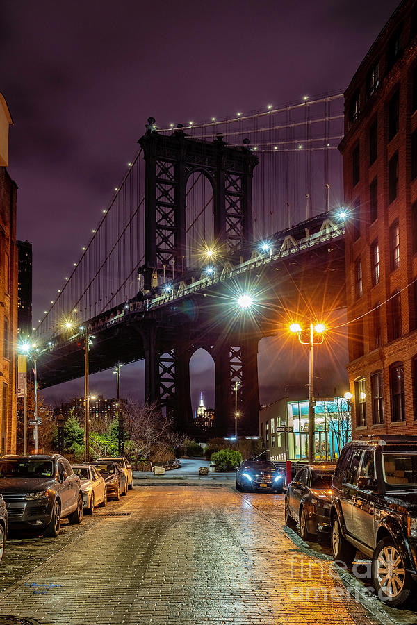 Manhattan Bridge by Marvin Spates