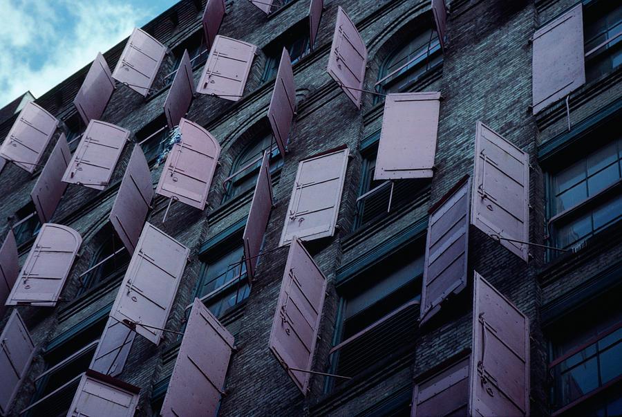 Manhattan Shutters Photograph by Alfred Gescheidt