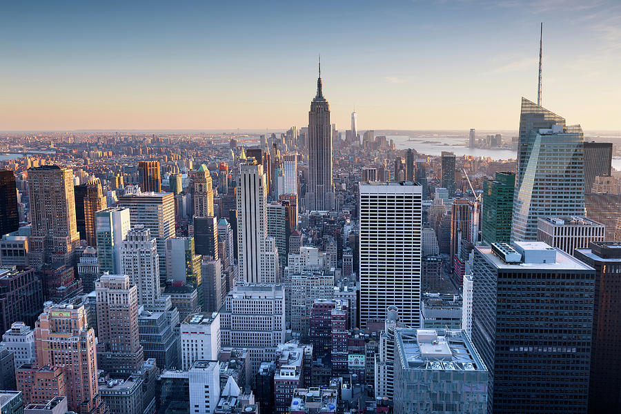 Manhattan Skyline Photograph by Chris Hepburn