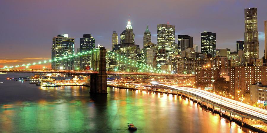 Manhattan Skyline Photograph by Sean Pavone