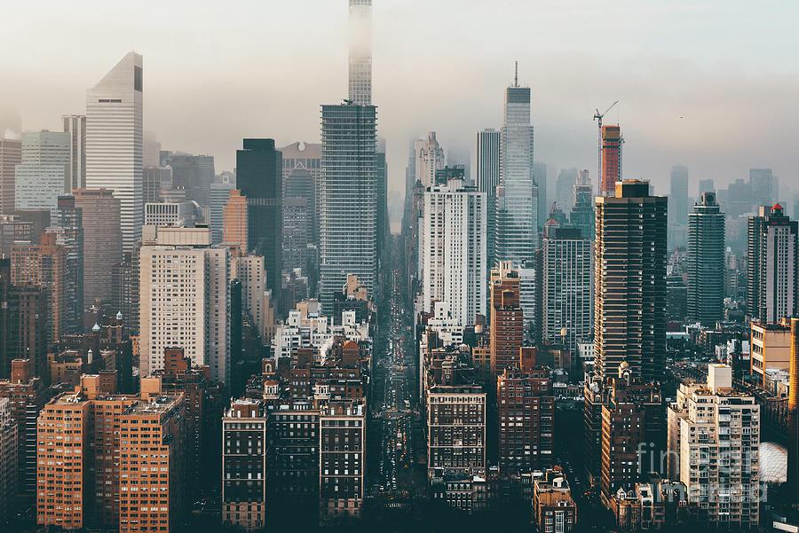 Manhattan Skyline Photograph by Yukinori Hasumi
