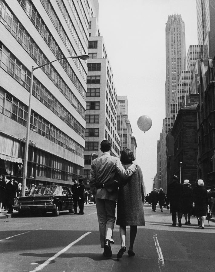 Manhattan Street Scene Photograph by Fpg