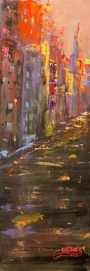 MANHATTAN SUNSET by Jack Diamond