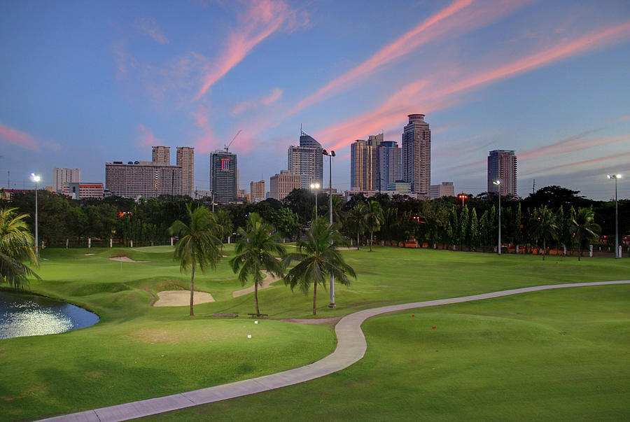 Manila, Philippines - Golf Club Photograph by David Min