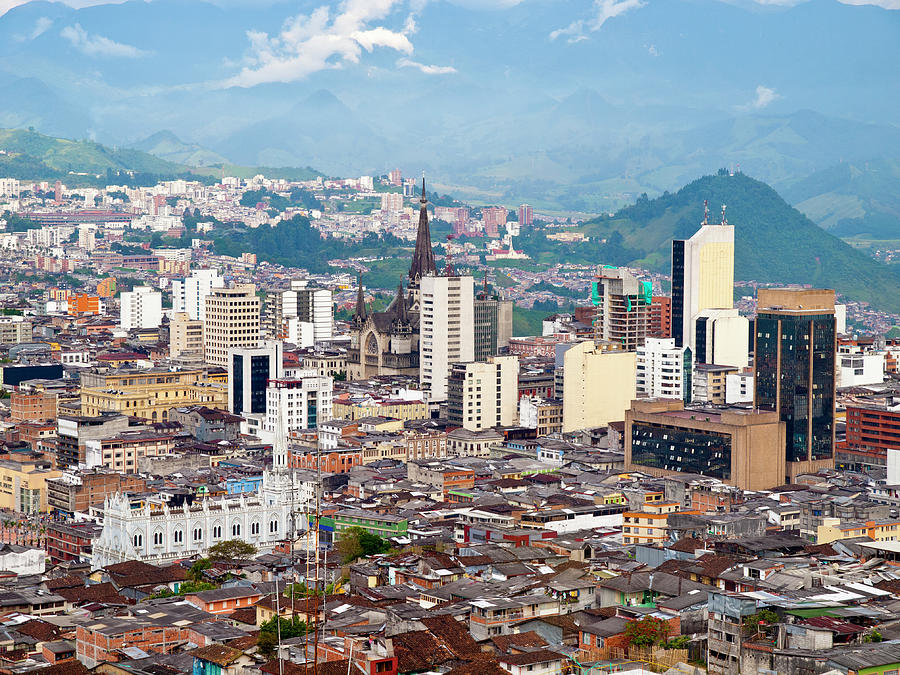 Manizales City View, Colombia Photograph by Holgs