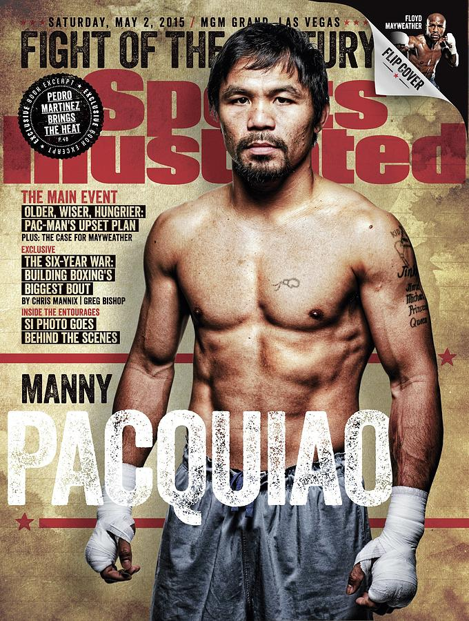 Manny Pacquiao, 2015 Wbawbcwbo Welterweight Title Preview Sports Illustrated Cover Photograph by Sports Illustrated