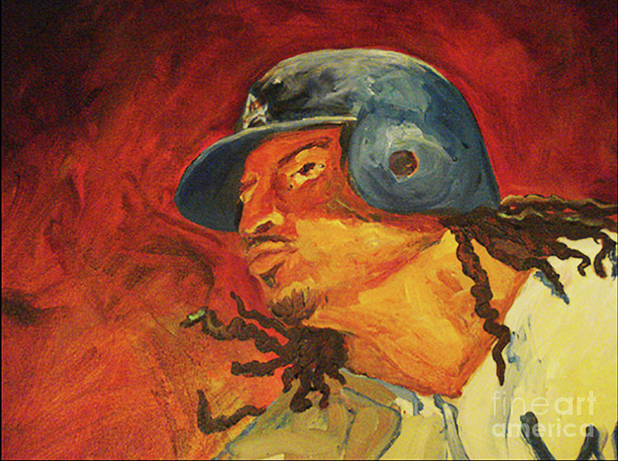 Manny Ramirez by Donna Hall