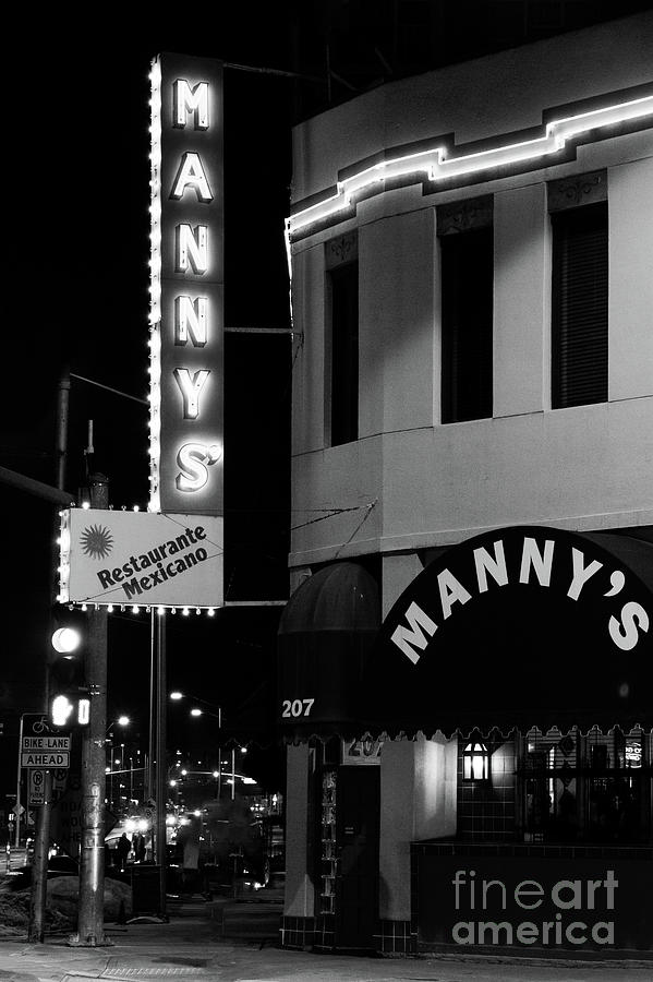 Mannys Restaurant Kansas City by Terri Morris