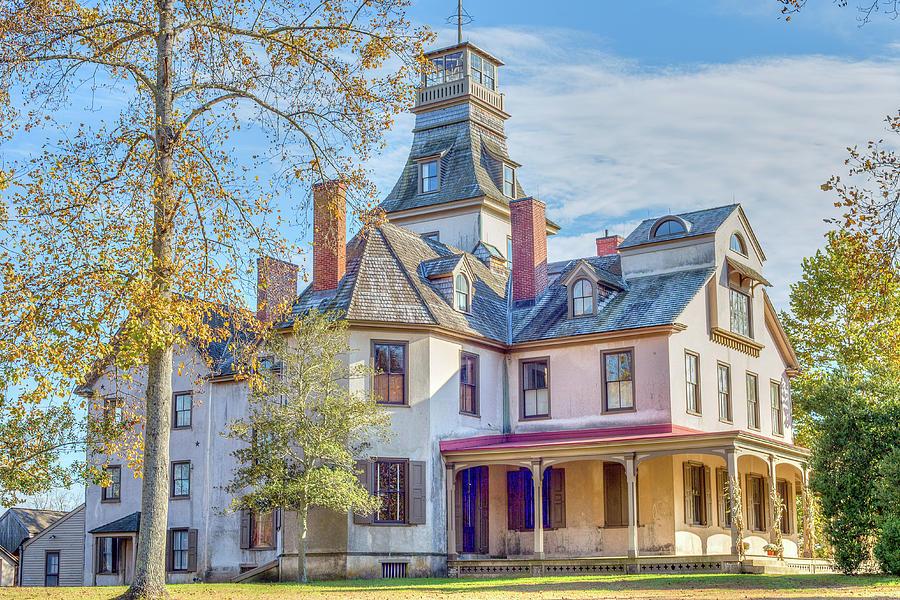 Mansion at Batsto by John A Megaw