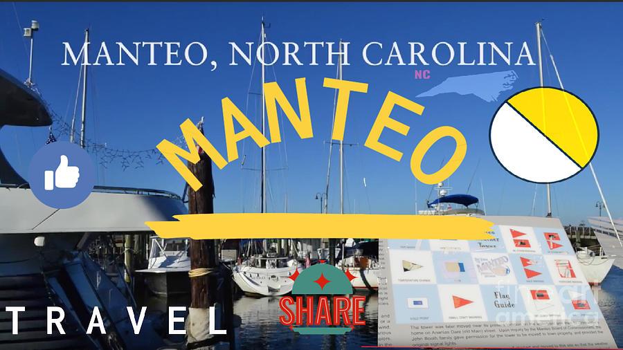 Manteo Digital Art - Manteo North Carolina by Karen Francis