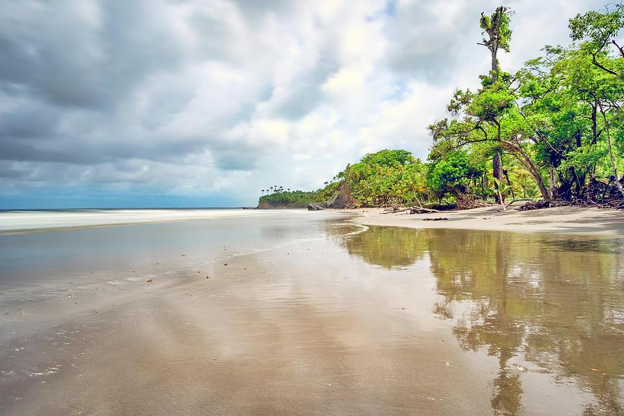 Manzanilla Beach Trinidad by Nadia Sanowar