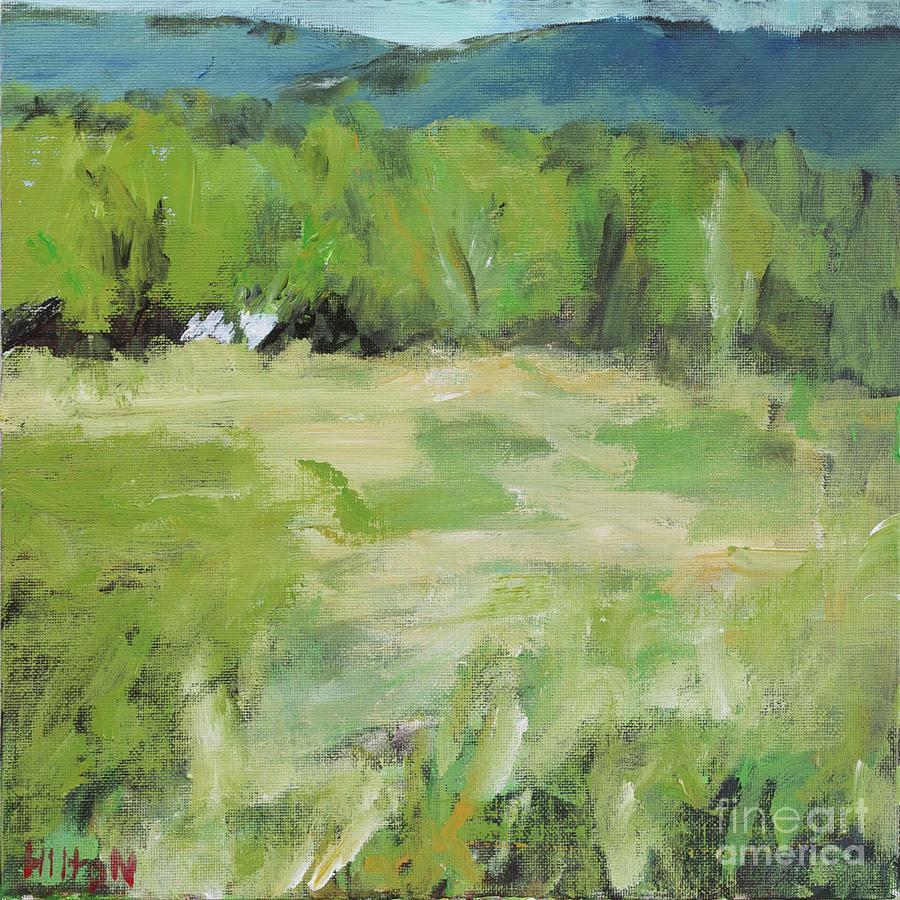 New Mexico Painting - Manzanita Homestead by Hilton McLaurin