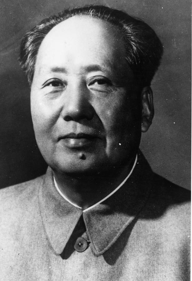 Mao Tse-tung Photograph by Keystone