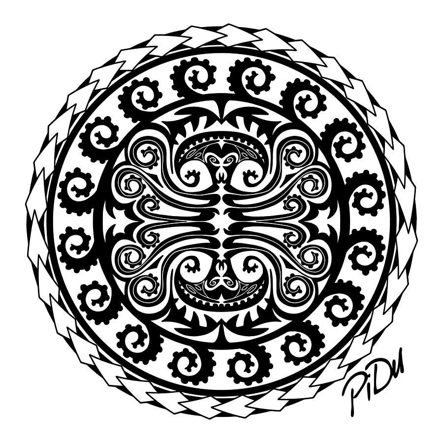 Maori Octopus by Piotr Dulski