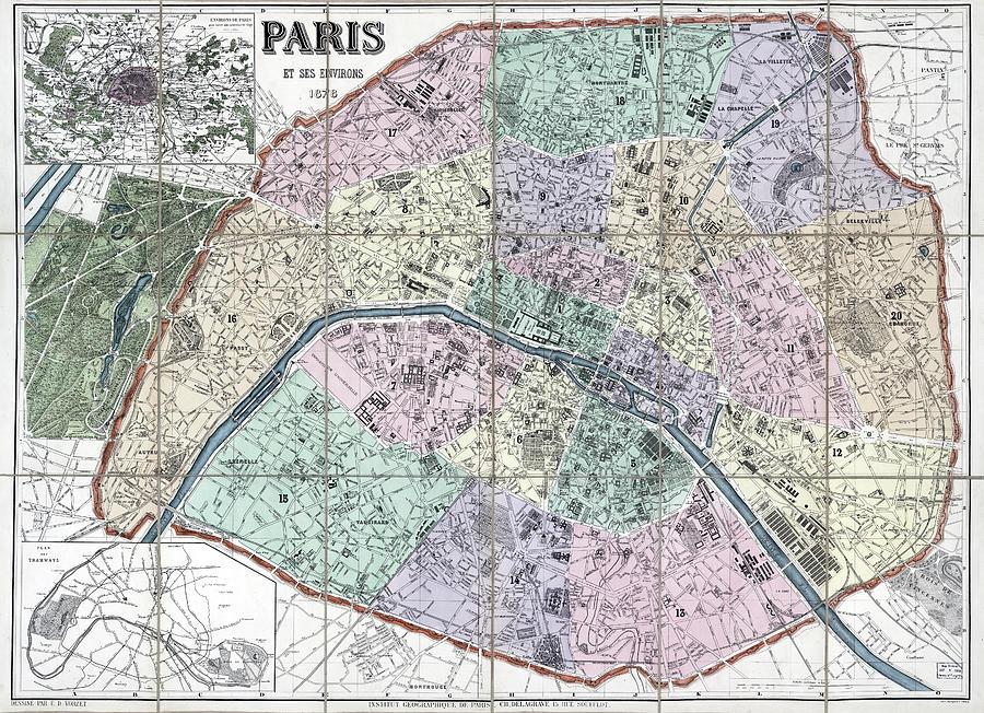 Paris Um 800
