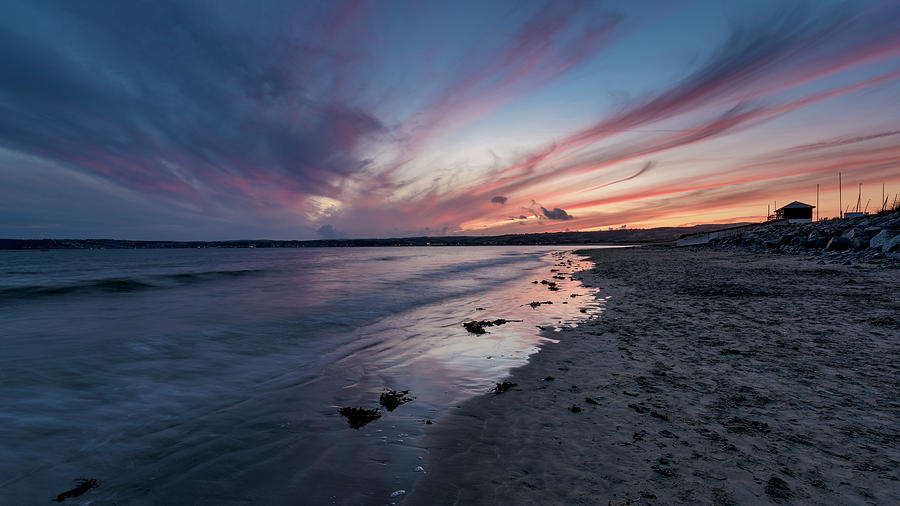 Marazion Sunset - Cornwall by Eddy Kinol