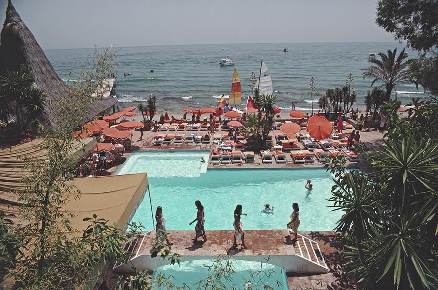 Marbella Club Photograph by Slim Aarons