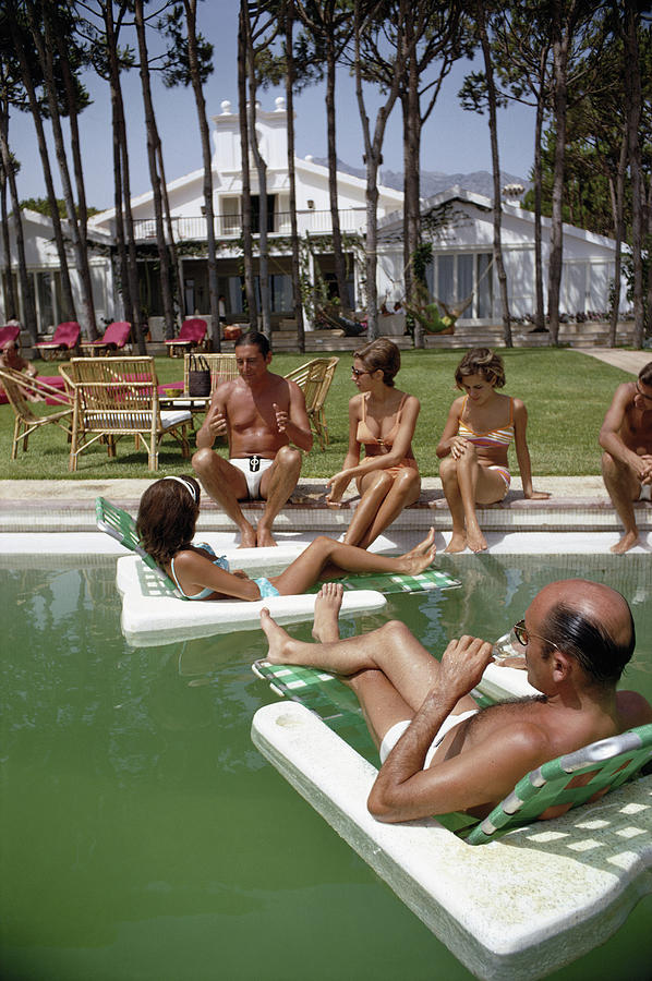 Marbella Party Photograph by Slim Aarons