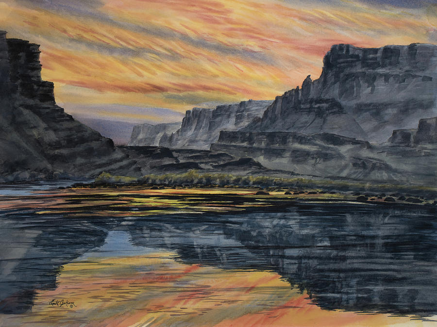 Marble Canyon Sunset by Link Jackson