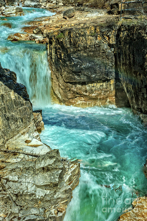 Waterfall Photograph - Marble Falls by Robert Bales