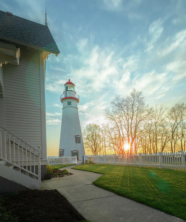 Marblehead Light by Will Moneymaker