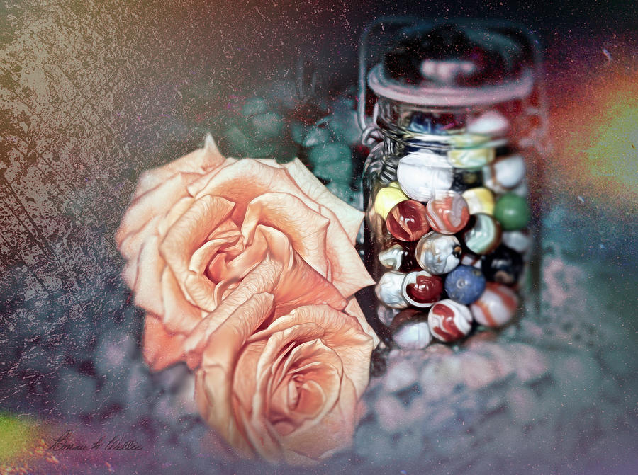 Marbles and Roses by Bonnie Willis