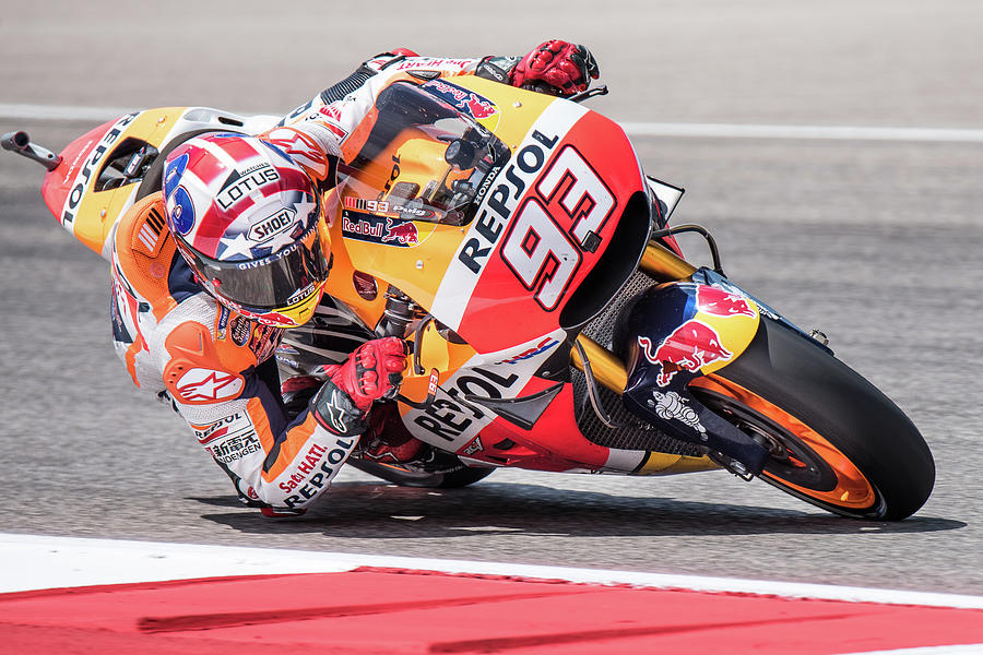 Marc Marquez, Repsol Honda MotoGP by Dave Wilson