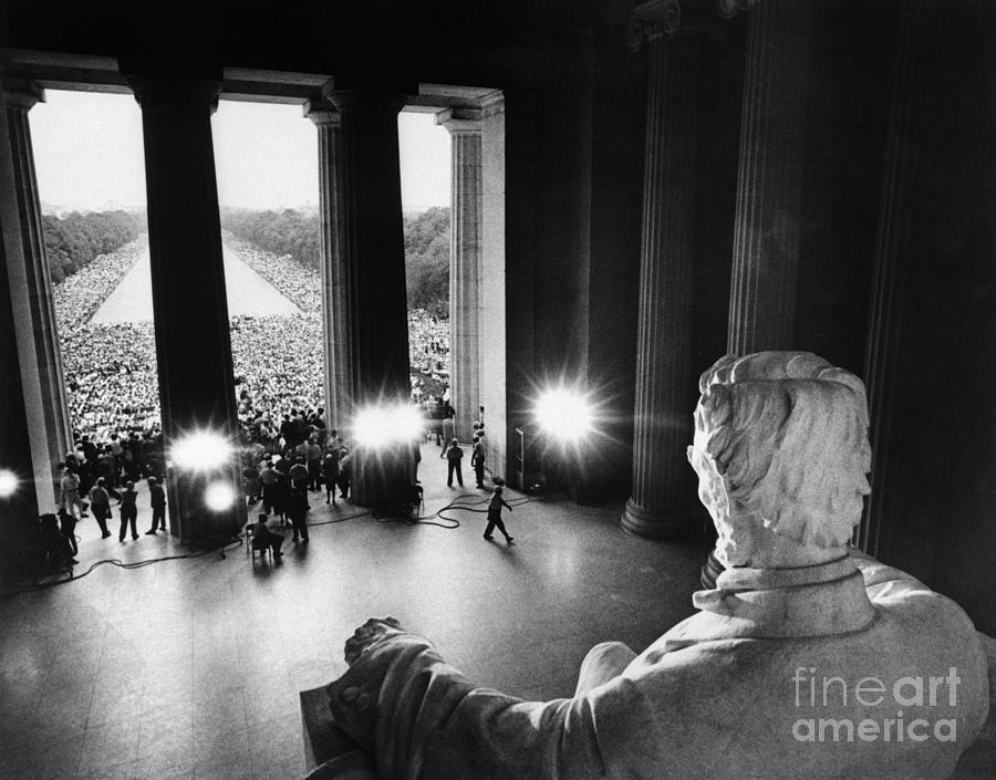 March On Washington Participants Photograph by Bettmann