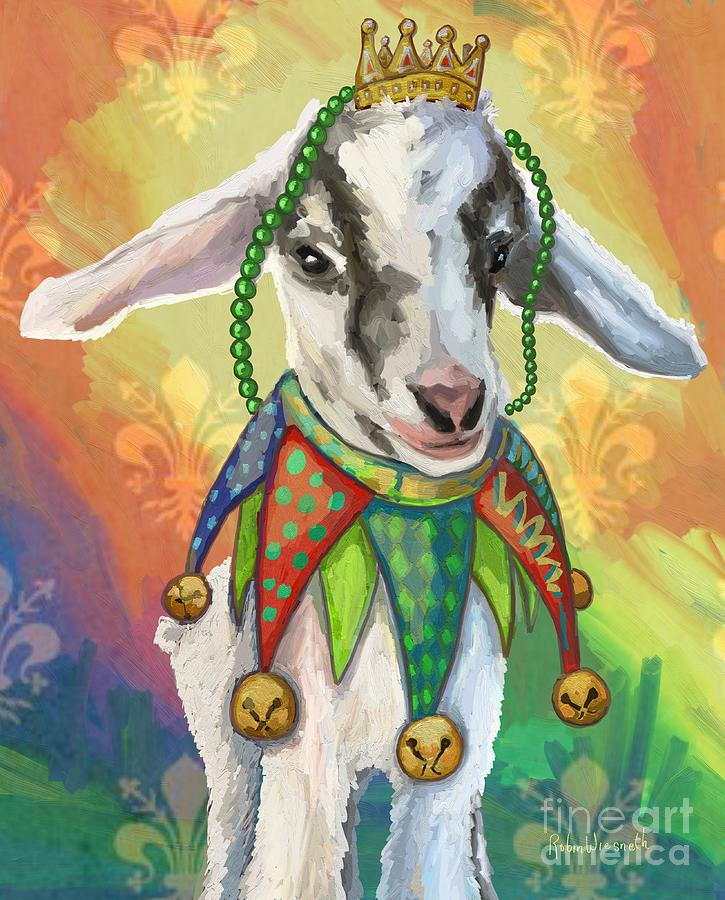 Mardi Goat by Robin Wiesneth