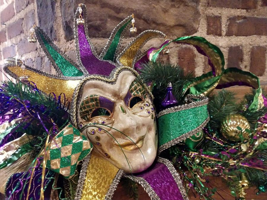 Mardi Gras Mask by Pamela Williams