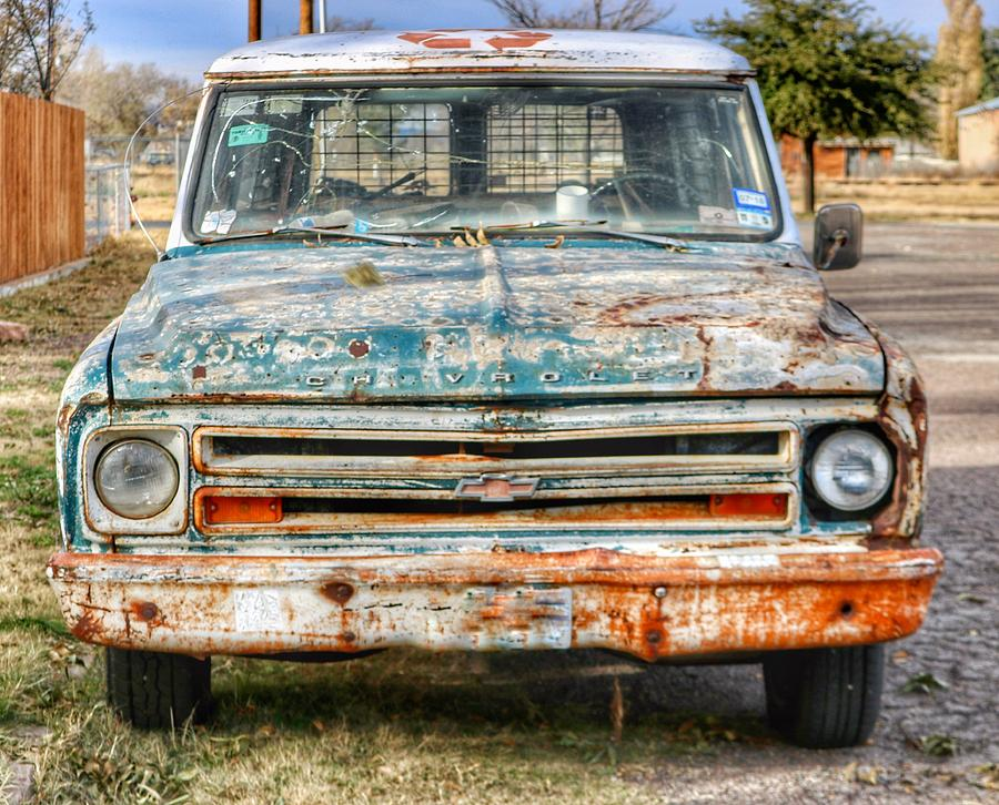 Marfa Chevy  by Gia Marie Houck