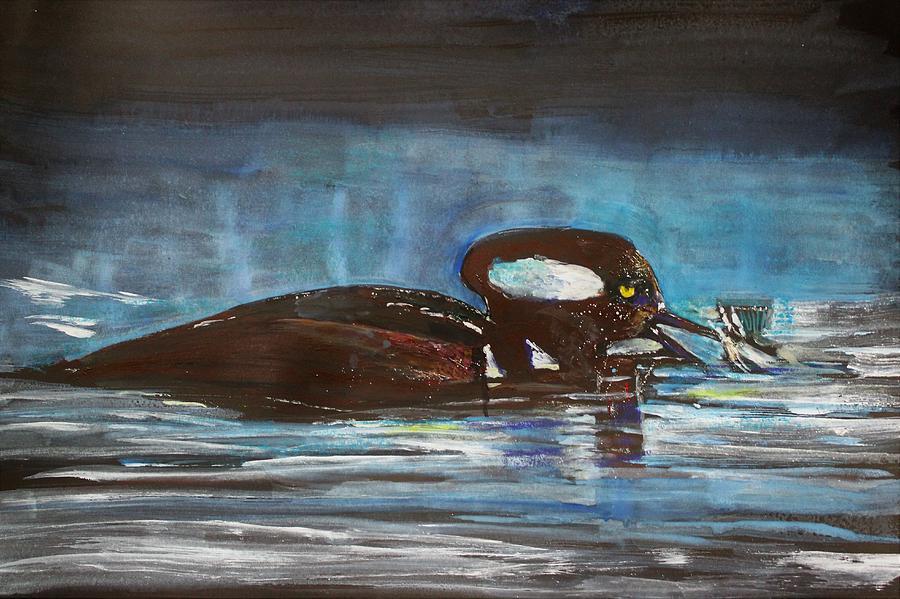 Marganser by Khalid Saeed