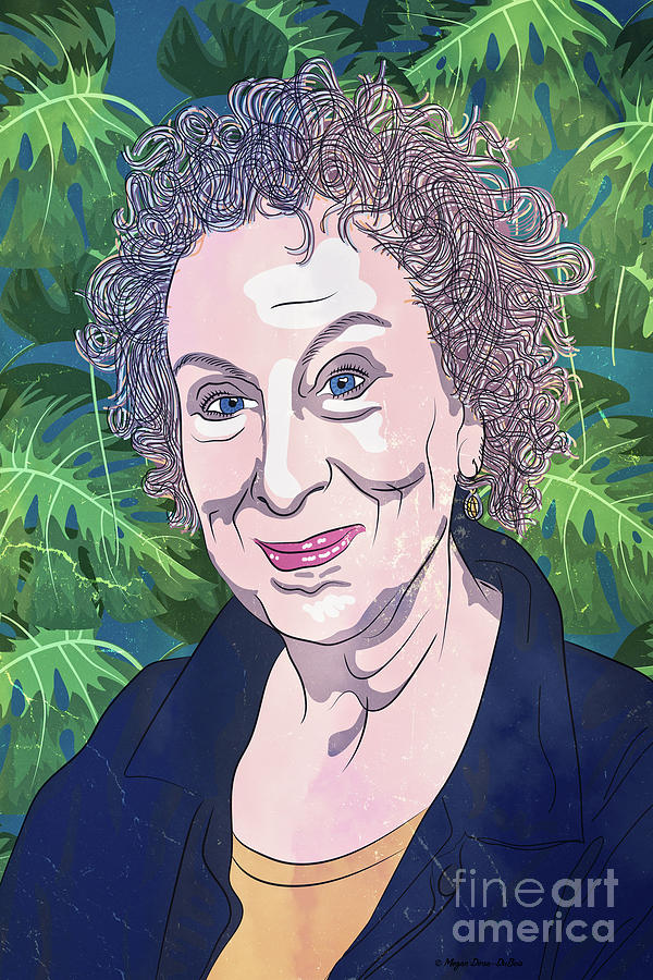 Margaret Atwood by Megan Dirsa-DuBois