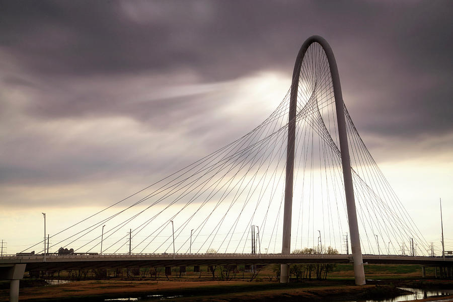 Dallas Photograph - Margaret Hunt Hill Bridge - Large Marge - Dallas, Texas by Jason Politte