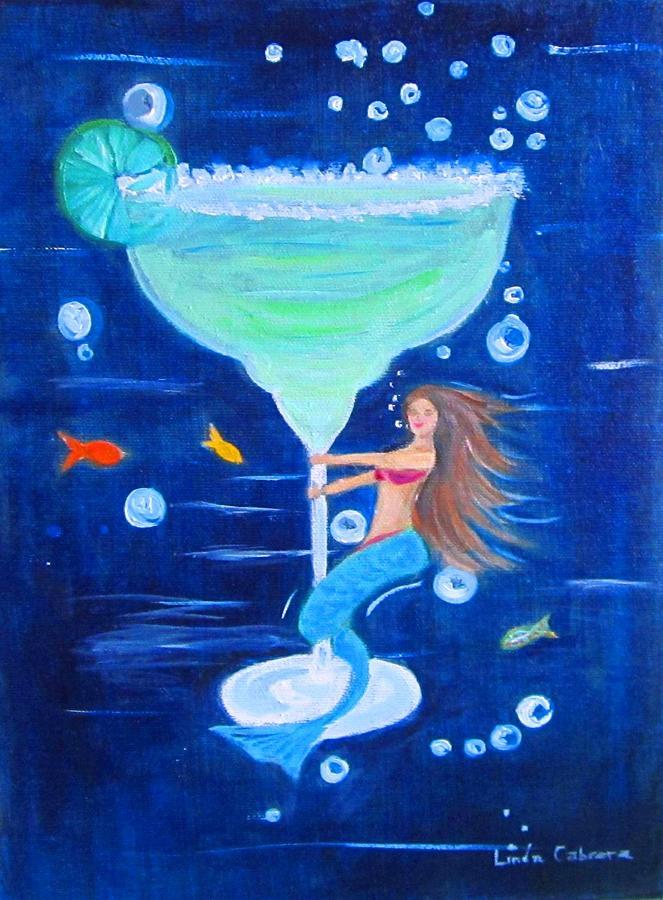 Margarita Mermaid by Linda Cabrera