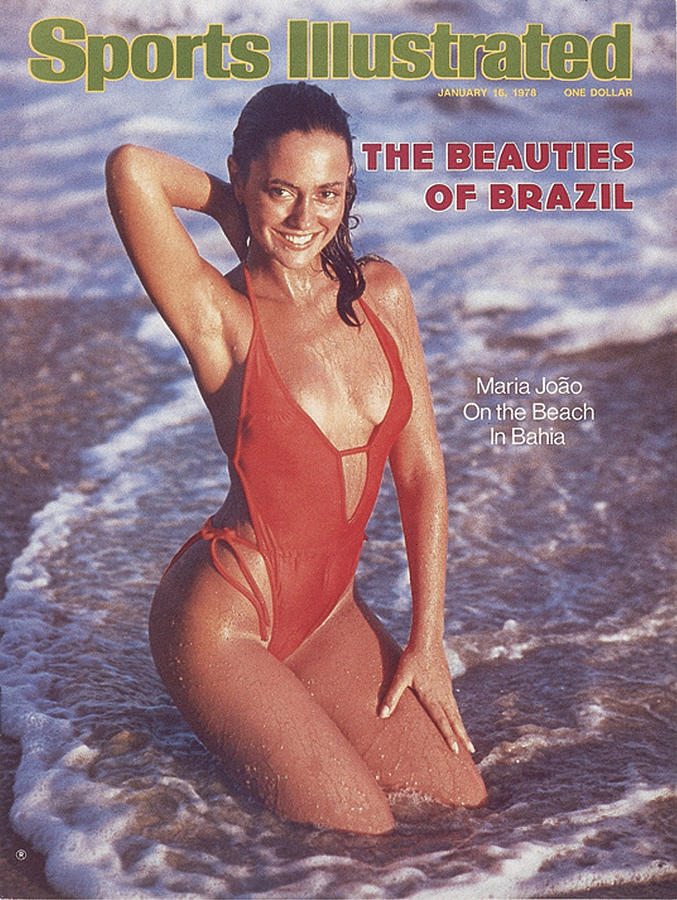 Maria Joao Swimsuit 1978 Sports Illustrated Cover Photograph by Sports Illustrated