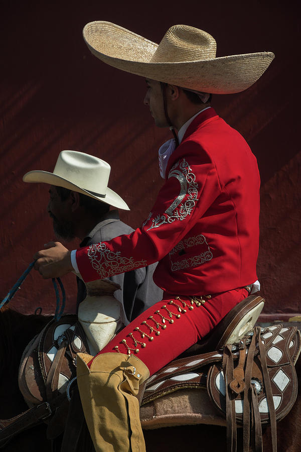 Mariachi Photograph - Mariachi on Independence Day in Mexico by Dane Strom