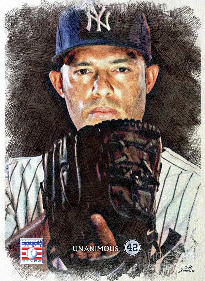 Mariano Rivera - The Closer Digital Art by CAC Graphics a04cc5fd61b4