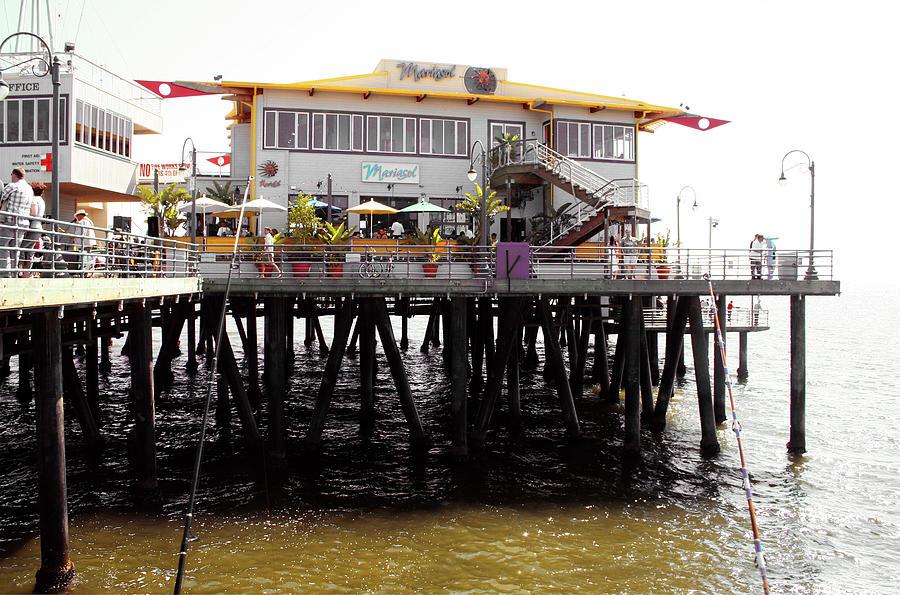 Mariasol Restaurant Santa Monica Pier by Doc Braham