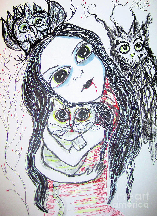 Marie and Her Pets by Sandy DeLuca