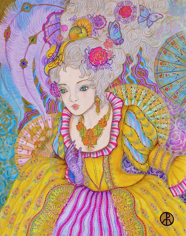 Marie Antoinette by Ellie Perla