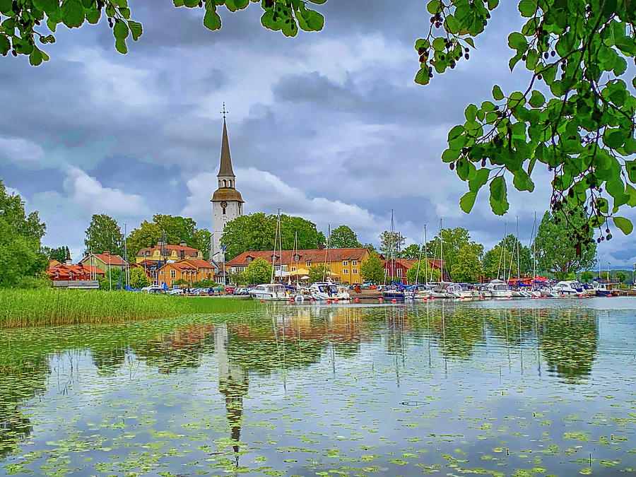 Mariefred, Sweden by Tony Crehan