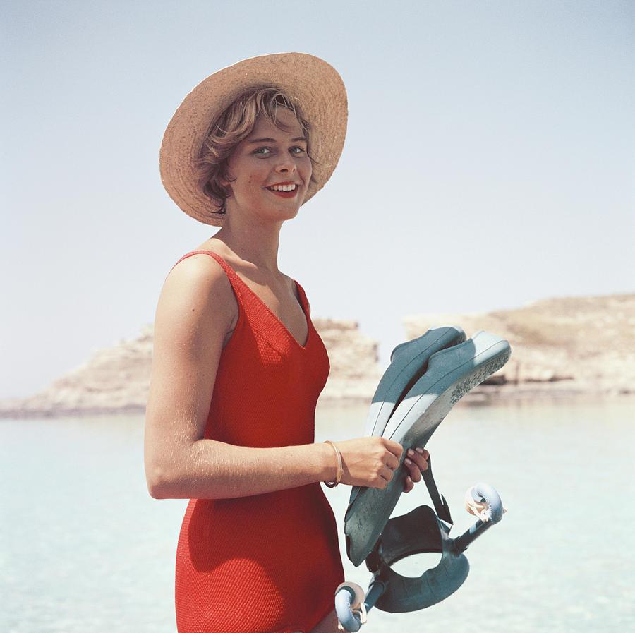 Marietine Birnie Photograph by Slim Aarons