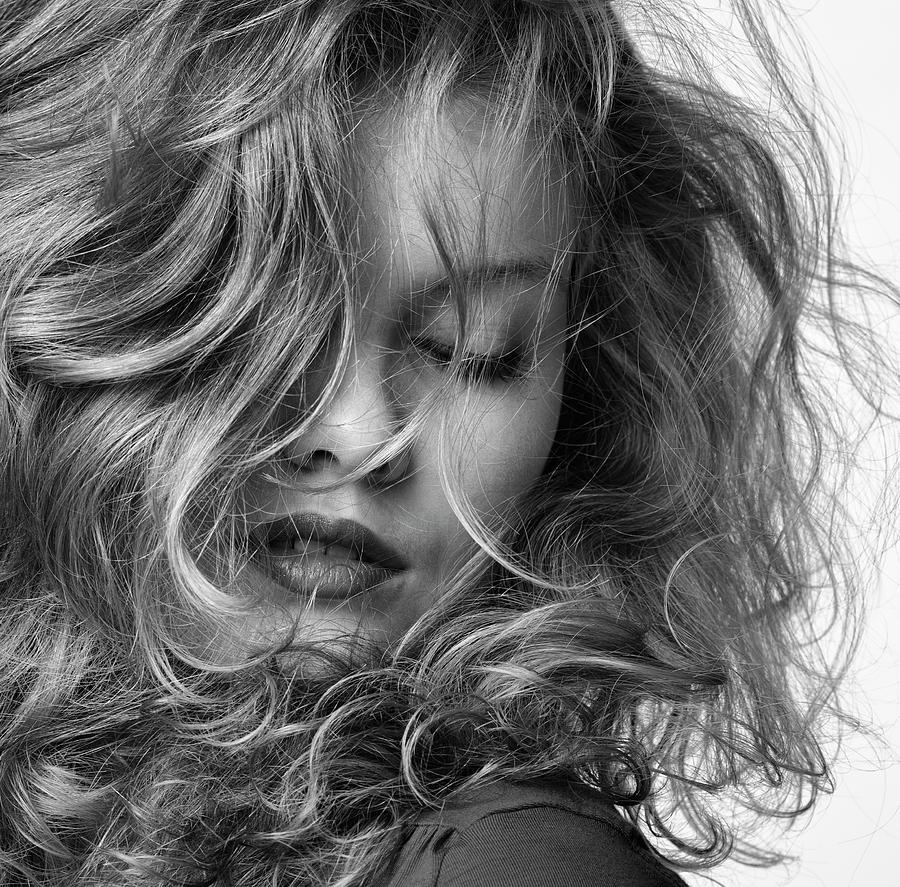 Portrait Photograph - Marije D by Steven Van Duin