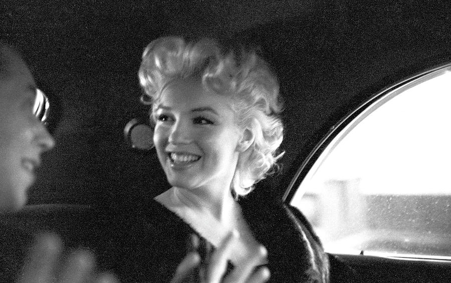 Marilyn & Dick Photograph by Michael Ochs Archives