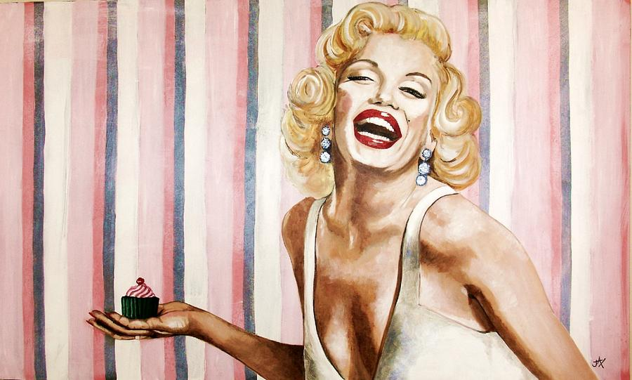 Marilyn Cupcake by Jacqui Simpson