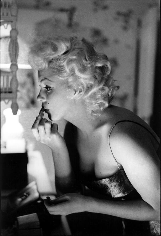 Marilyn Getting Ready To Go Out Photograph by Michael Ochs Archives
